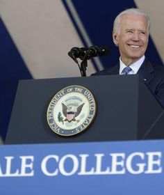 """Don't forget about what doesn't come from this prestigious diploma—the heart to know what's meaningful and what's ephemeral; and the head to know the difference between knowledge and judgment."" – Vice President Joe Biden at Yale University"