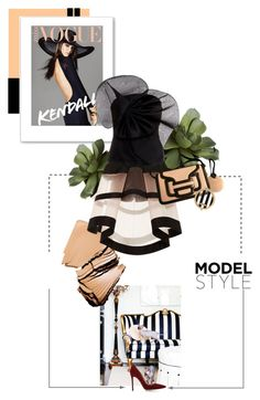 """""""STRIPES"""" by bittersweetcolours ❤ liked on Polyvore featuring CB2, Delpozo, Pierre Hardy, Henri Bendel and Gianvito Rossi"""