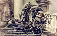 Battle of Berlin. DERNIER CARRÉ