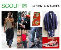 Scout Men's Trends Book SS 2018 | Trend Books SS 2018 | Pinterest ...
