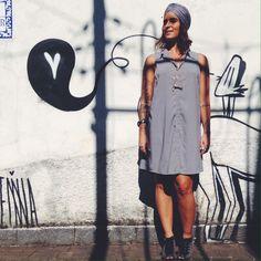 grey dress - clean http://www.achadotrailer.com.br
