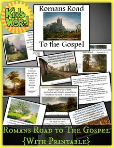 Romans Road To the Gospel {with Printable Booklet} - Kids in the Word