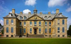Belton House is a country house in Belton, Lincolnshire, England. Belton House, English Manor Houses, Marquise, Stone Houses, Historic Homes, Exterior Design, Facade, House Styles, Building