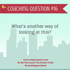 Coaching Questions - http://www.rubymcguire.com