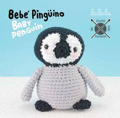 El blog de Dmc: El Club del patrón: Bebé pingüino de Lalala Toys para DMC