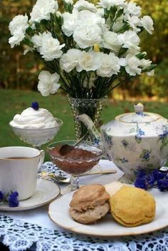 Tea At The Garden Place... (1) From: Ana Rosa, please visit