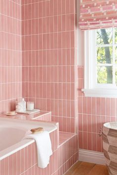 hotel design pink bathroom - Google Search