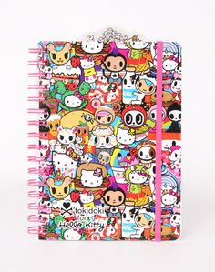tokdoki x Hello Kitty Buffet Notebook