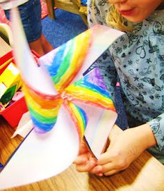 Science (wind) Pin Wheel project- Great to do in the wonter time with poinsettia pin wheels! Fun Arts And Crafts, Book Crafts, Crafts To Do, Crafts For Kids, First Grade Crafts, First Grade Science, Earth Day Activities, Activities For Kids, How To Make Pinwheels