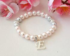 Little girl bracelet baby bracelet flower girl bracelet