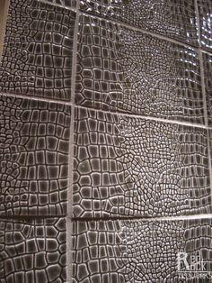 Snake Skin 4x6.5 Ceramic Tile- Red Rock Tileworks