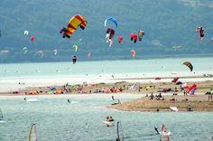 Foto e Immagini di Belluno: Foto kite surf    #sport #surf #belluno lago di s'croce