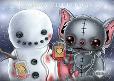 Frightlings: Merry Christmas.