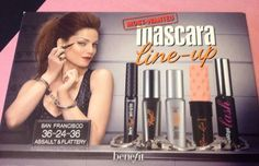 Benefit Cosmetics Most Wanted Line Up Roller Lash Primer Theyre Real Mascara Lot | eBay