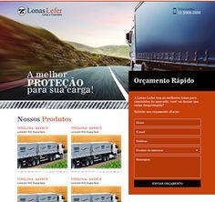 Landing Page para Lonas Lefer