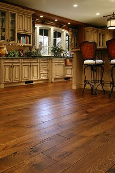 White Oak Floors - Live Sawn - traditional - wood flooring - other metro - Allegheny Mountain Hardwood Flooring