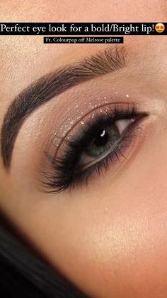Smoke Eye Makeup, Makeup Eye Looks, Natural Eye Makeup, Matte Eye Makeup, Eyebrow Makeup, Makeup Tutorial Eyeliner, Eyeshadow Makeup, Makeup Brushes, Hair Makeup