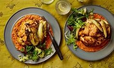 Thomasina Miers' recipe for whole roast cauliflower with muhammara | Life and style | The Guardian