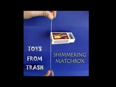 The Shimmering Matchbox is a great toy. It costs very little – an old matchbox, two paper clips, thread and two beads. Fix two paper clips between the outer ...