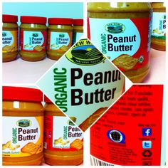 Organic Peanut Butter in sizes! Organic Peanut Butter, Food Inc, Healthy Eating, Jar, Eating Healthy, Healthy Food, Eating Well, Clean Eating, Eating Clean