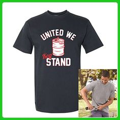 United We Keg Stand Funny July 4th Party USA America Mens Beer Cap Pop Shirt Medium Navy - Food and drink shirts (*Amazon Partner-Link)