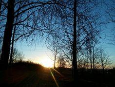 Zachód słońca na Środuli - Sosnowiec