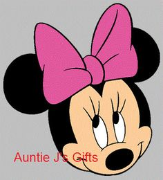 CROCHET GRAPH PATTERN minnie mouse for afghan door auntiejsgifts