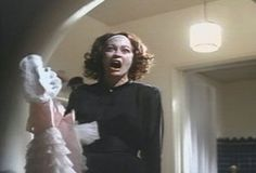 """Mommie Dearest Paramount Pictures """"No wire hangers, ever!"""" — Faye Dunaway as Joan Crawford"""