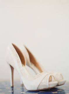 View entire slideshow: Lovely Lace Shoes on http://www.stylemepretty.com/collection/3003/