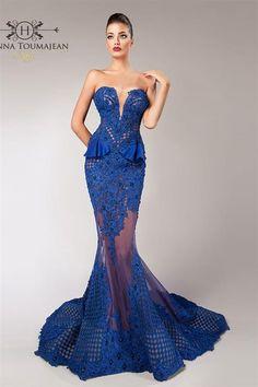 b5d13c37506b6 فساتين رائعة بتوقيع المصمم حنّا توماجان - نصف الدنيا Sexy Dresses