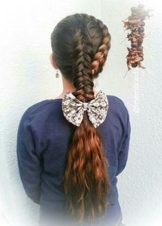 Dutchbraid headband and a dutch fishtail braid