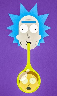 Nuestras entradas favoritas a Rick de DeviantArt y Morty Fan Art Contest | nerdist