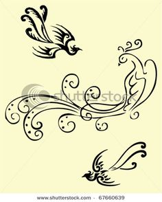tribal phoenix tattoos | Chopper tattoo website design