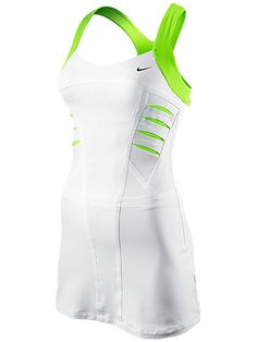Maria Sharapova wore this dress from Nike in the Australian Open. Form fitting and flattering, just how we like it :) $130.00
