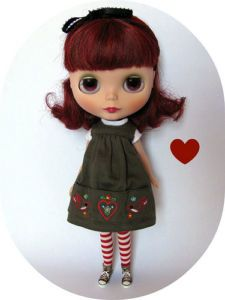 Gentle River- my favourite Blythe ( yes it has something to do with my maiden name)