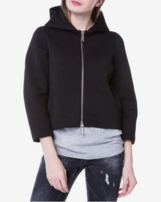 DSQUARED2 Hanorac Hooded Jacket, Athletic, Hoodies, Sweaters, Jackets, Clothes, Fashion, Jacket With Hoodie, Down Jackets