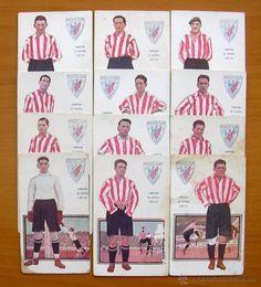 Athletic de Bilbao. - Chocolates Amatller 1922 - 12 cromos - Completo - Ver…