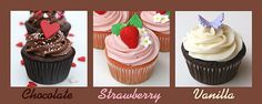 cream cheese frosting recipes...thanks to glorious treats...there's chocolate...there's strawberry...there's vanilla...