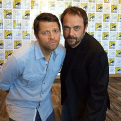 Misha and Mark SDCC  ...guys you dont understand. I was in san diego two weeks ago and now im not so im very frustrated