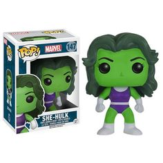 Hulk Classic She-Hulk Pop! Vinyl Figure - Funko - Hulk - Pop! Vinyl Figures at Entertainment Earth