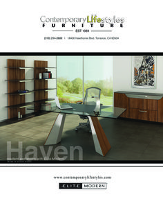 Elite Modern Has Just Released A New Office Collection With Modern  Perfection. Check It Out