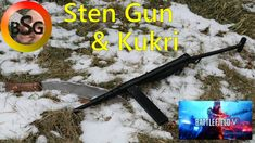 In honor of Battlefield 5 coming out this week, I decided to make a couple of the weapons from it! The Kukri Melee weapon and a printed Sten Gun! Battlefield 5, Blacksmithing, 3d Printing, Guns, Corner, Prints, How To Make, Blacksmith Shop, Impression 3d
