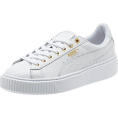 PUMA BASKET PLATFORM PEARLIZED WOMENS SNEAKERS