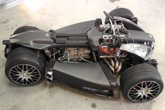When I first saw the Lazareth Wazuma V8F Matte Edition ($280,000) I had no idea what I was looking at. It's like this futuristic death machine. The only thing I knew was that it was love at first sight. The quads name sake is Ludivic Lazareth, the founder of the company. He made his name by customizing Yamaha VMAX motorcycles and through his pension of designing his projects through the hands-on use of materials and not through computers like the majority of the industry. Go big or stay h...