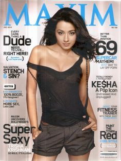 Trisha #photoshoot for #maxim