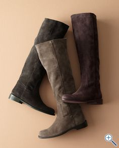 Beautiful suede boots. $248  Giuliana Suede Boots