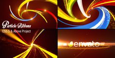 Particle Ribbons Logo