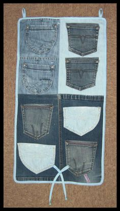 Jeans Pockets Organizer by DarkDollArt.deviantart.com on @deviantART