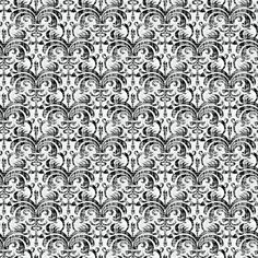 Distressed Damask: Perfect for a black and white themed room, this pattern is a swirly damask with a distressed finish.