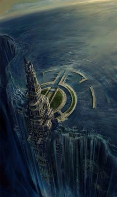 I call it the The Gateway. Science Fiction Art.